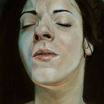 1623-15|Núria Farré|Ingrid II|2015|40x 30cm|Oil on Canvas